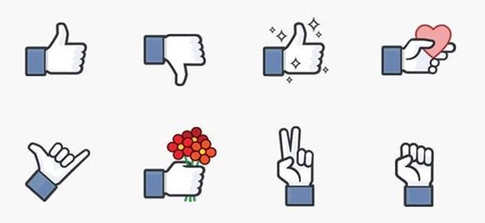 Facebook ส่งสติกเกอร์ 'Like' สร้างสีสันใหม่ให้การแชท