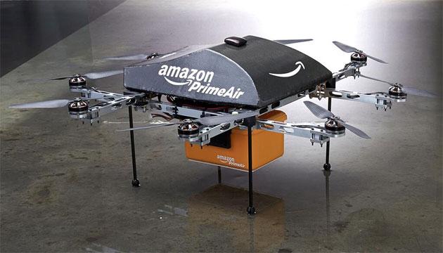 Amazon เตรียมส่งสินค้าด้วยคอปเตอร์จิ๋ว Drone