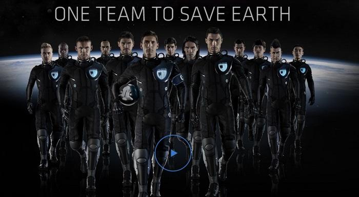 Samsung เรียก 11 ฮีโร่นักเตะปกป้องโลกจากเอเลี่ยน