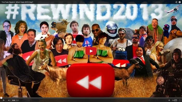 10 สุดยอดวีดีโอที่มียอดวิวสูงที่สุดบน Youtube ปี 2013