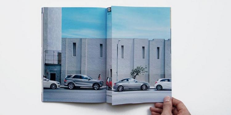 รถจิ๋วสมาร์ทกับ Print Ad ที่ย้ำจุดขาย จอดได้แม้ที่บรมมะแคบ