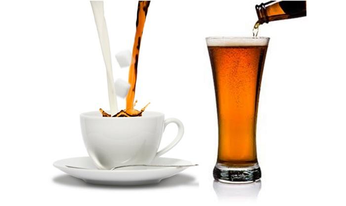 """[infographic] เปิดศึก """"เบียร์ VS กาแฟ"""" อะไรทำให้สมองคุณสร้างสรรค์ได้แจ่มกว่ากัน?"""