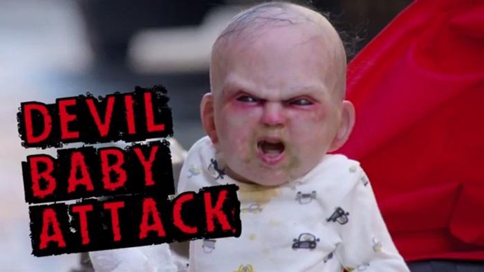 สะดุ้ง! ไวรัล Devil Baby หลอนชาวนิวยอร์กจนสร้างยอดวิวทะลุ 2 ล้านวิวในสองวัน