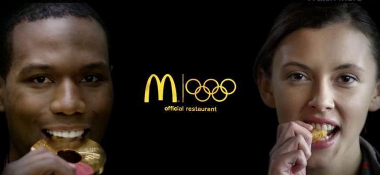 แมคฯ กับโฆษณาใหม่ ชวนคนกัด! ฉลองเทศกาลโอลิมปิก