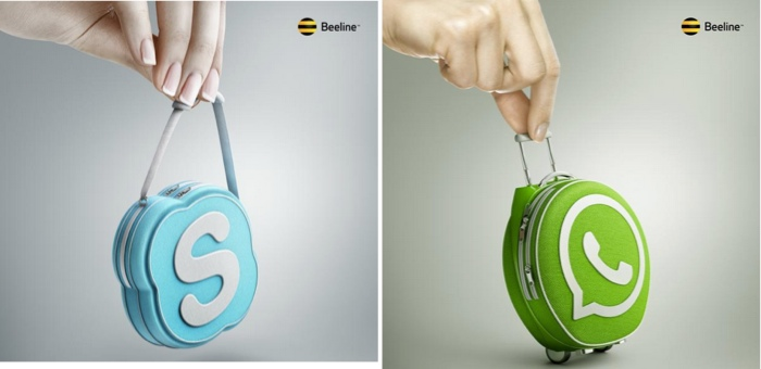 Beeline โชว์โฆษณาโรมมิ่งเน็ตบนมือถือที่คนทุกเพศทุกวัยเขาใจง่าย