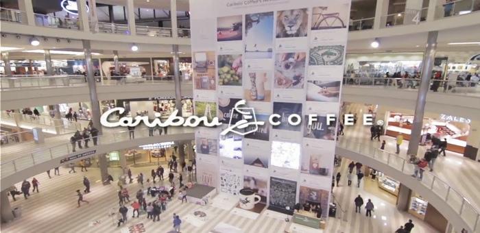 Caribou แฟรนชายส์ร้านกาแฟจัดอีเว้นท์กลางห้าง เอาภาพจาก Pinterest มาเป็นแรงบันดาลใจในการปรุงกาแฟ!