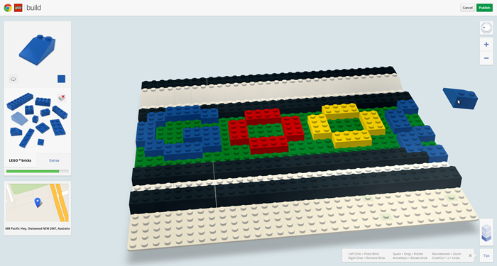 LEGO จับมือ Google Chrome เปิดโอกาสให้คุณต่อเลโก้บนเว็บได้ฟรี