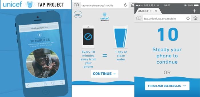 Unicef ท้าใจคนวัยดิจิตอล ไม่แตะมือถือ 10 นาที เพื่อช่วยบริจาคน้ำสะอาดให้ผู้จากไร้