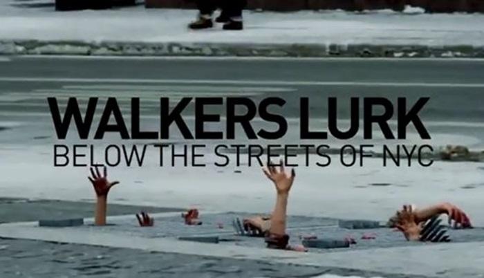 ไวรัล The Walking Dead ป่วนนิวยอร์เกอร์ แต่คราวนี้คนเริ่มชิน pankvertising แล้วหรือเปล่า?
