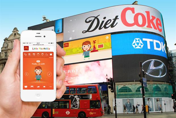 McDonald UK เปิดตัว Interactive Outdoor Campaign ที่ Piccadilly Circus