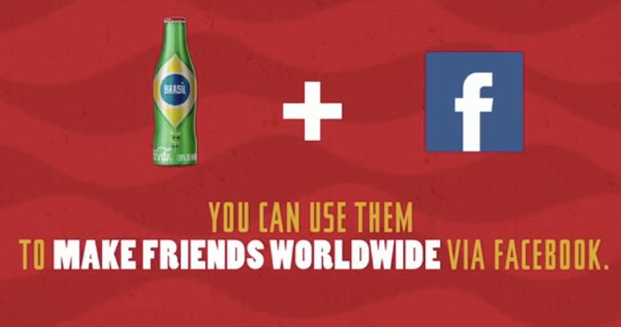 โค้กโปรโมทของพรีเมี่ยมโค้กขวดจิ๋วด้วย Facebook+AR สร้างไวรัลเอาใจวัยทีนทั่วบราซิล!