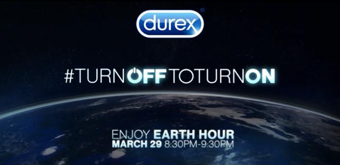 ดูเร็กซ์ รู้งาน ชวนคนมีเซ็กซ์ต้อนรับวัน Earth Hour ปิดไฟ…ให้โลกพัก