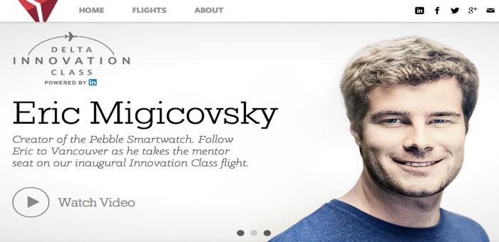 Delta Airline จับมือ Linkedin พาคนธรรมดาไปนั่งเครื่องบินติดกับ CEO