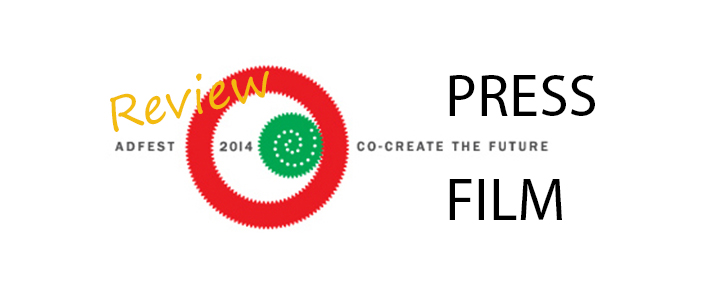 รีวิวแคมเปญชนะรางวัล ADFEST 2014 ในสาขา Press, Film