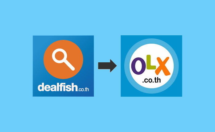 Dealfish.co.th เปลี่ยนชื่อเป็น OLX.co.th