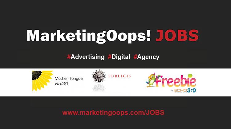 อัพเดทงานใหม่ระหว่างวันที่ 3-5 มี.ค. 57 ที่น่าสนใจ #Marketingoops Jobs