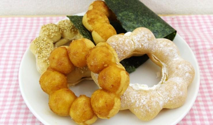 ลองไหม? Mister Donut ส่งโดนัทรสมิโซะ สาหร่าย เกี๊ยวซ่าและ ฯลฯ เอาใจแดนซากุระ