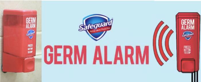 Safe Guard ขายสบู่ล้างมือวิธีใหม่ด้วยออดและไฟฉุกเฉิน การันตีทุกคนล้างมือหลังเข้าห้องน้ำ