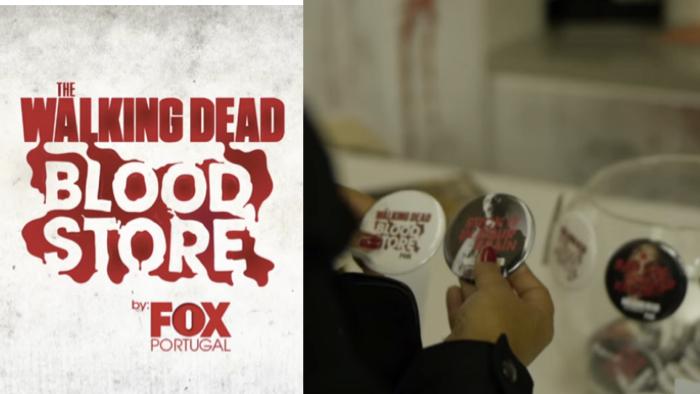 ซีรีส์ฮิต Walking Dead ชวนแฟนบริจาคเลือด เพื่อแลกกับของที่ระลึกจากหนัง