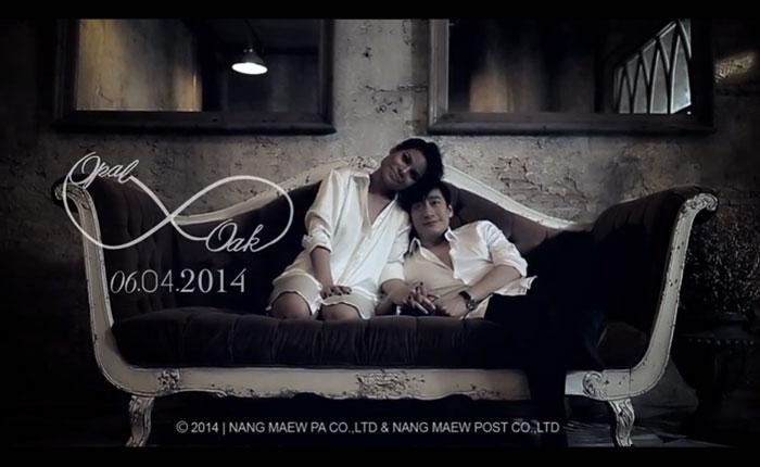 ไวรัลวิดีโอเบาๆ ก่อนปิดสงกรานต์ Official OAK & OPAL Wedding Video Presentation