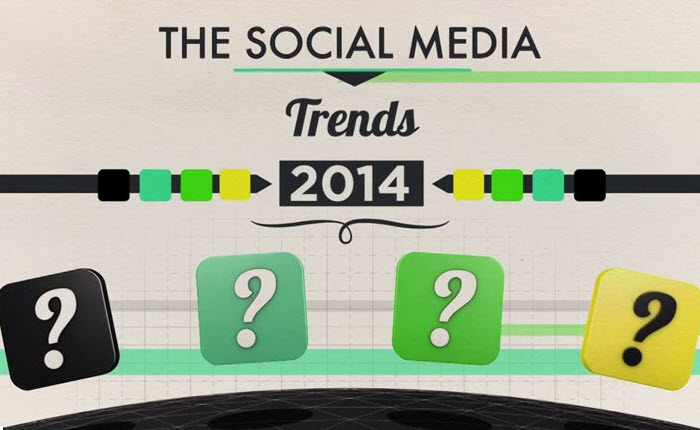 [Infographic] วีดีโอ The Social Media Trends 2014