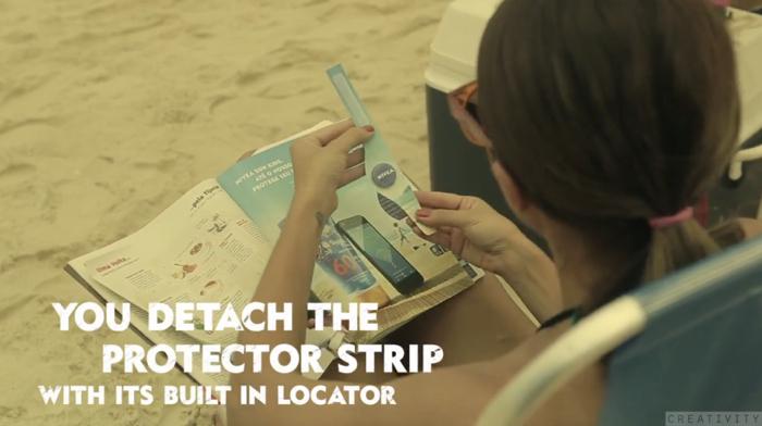 นีเวียขายครีมกันแดดสำหรับเด็กแบบเด็ดๆ แจกสายรัดข้อมือกันเด็กหาย ขณะไปเล่นชายหาด