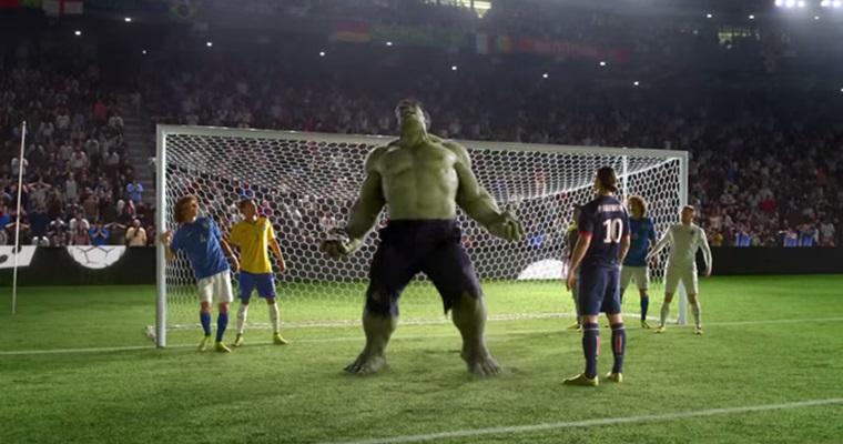 Nike Allstars! โฆษณาโปรโมท 2014 FIFA World Cup ที่แนวขั้นเมพขิงๆ