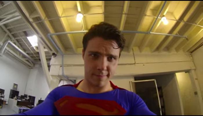 ไวรัลวีดีโอจาก GoPro ที่ให้คุณเห็นทุกอย่างที่ซูเปอร์แมนเห็น