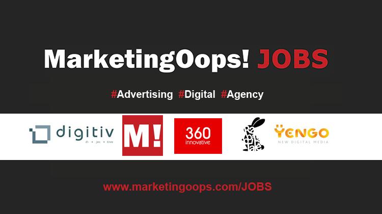งานล่าสุด จากบริษัทเอเจนซี่โฆษณาชั้นนำ #Advertising #Digital #JOBS 28-29 April 14