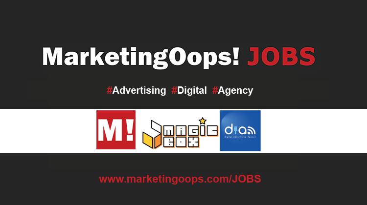 งานล่าสุด จากบริษัทเอเจนซี่โฆษณาชั้นนำ #Advertising #Digital #JOBS 7-9 May 14