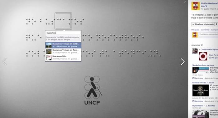 มูลนิธิคนตาบอดใช้ฟีเจอร์ Tagging ใน Facebook สอนคนตาดีอ่านอักษรเบลล์