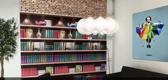ค่ายมือถืออยากโปรโมท Mobile Internet แจกวอลเปเปอร์รูปชั้นหนังสือ สแกนปั๊บอ่าน Ebook ได้ทันที