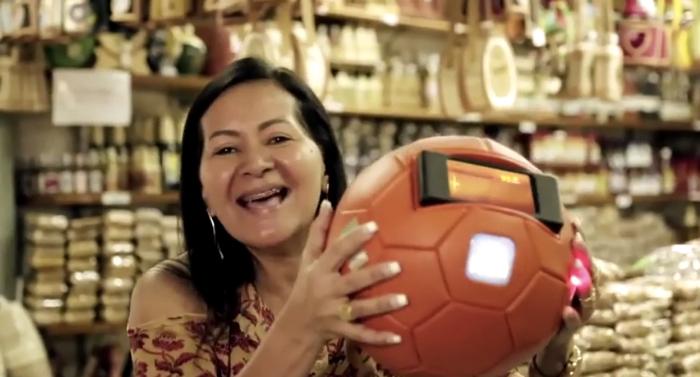 """ธนาคารแห่งชาติบราซิลอาสาชวนแฟนบอลส่ง """"แรงใจ"""" ใส่มือถือเชียร์ทีมชาติ"""