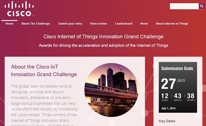 Cisco Internet of Things Innovation Grand Challenge__Web Page