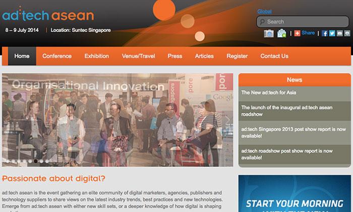 ad:tech asean Singapore 8-9 ก.ค. พร้อมส่วนลด 20% Promo Code: FKMYARZ