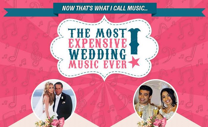 [Infographic] งานแต่งงานที่ใช้งบจ้างนักร้องนักดนตรีแพงที่สุดในโลก