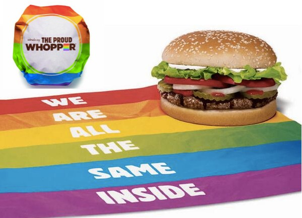 เบอร์เกอร์คิงเอาใจชาวสีม่วงด้วยเบอร์เกอร์สีรุ้งพร้อมข้อความชวนคิด! เราทุกคนต่างก็เหมือนๆกัน!