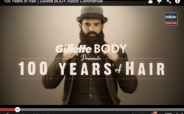 Gillette ใช้สารพัด Content Marketing ใน Youtube Channel ขายสินค้าใหม่มีดโกนขนหน้าอก!
