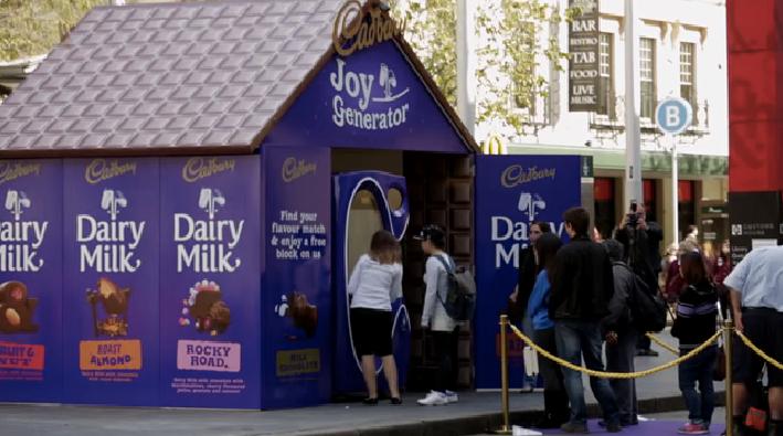 Cadbury ออกเครื่องทายรสช็อคโกแลตด้วยการสแกนบัญชี Facebook