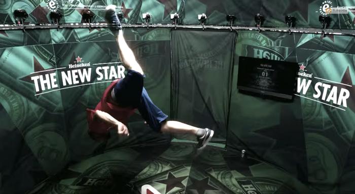 Heineken จับมือ Sony เปิดซุ้มให้นักเต้นเท้าไฟมาโชว์ฝีมือ พร้อมเก็บช็อตเจ๋งอวดคนทั้งโลก