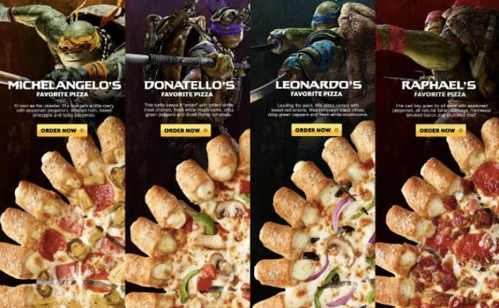 Pizza Hut รุก Movie Marketing ด้วยการจับมือหนังนินจาเต่าใช้ IMC โปรโมทอย่างยิ่งใหญ่