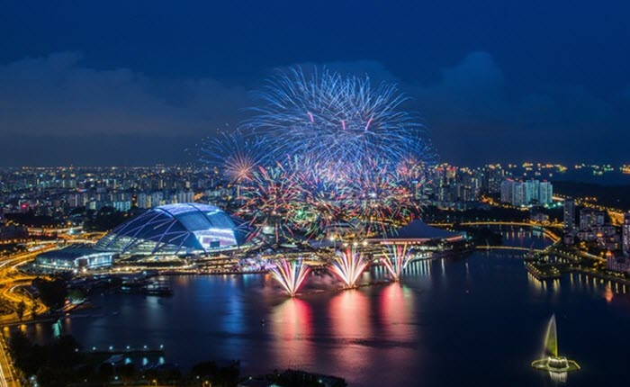 Fireworks Photo by Zexsen Xie