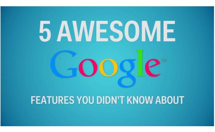 5 ลูกเล่นสุดเจ๋งของ Google ที่คุณอาจจะยังไม่รู้