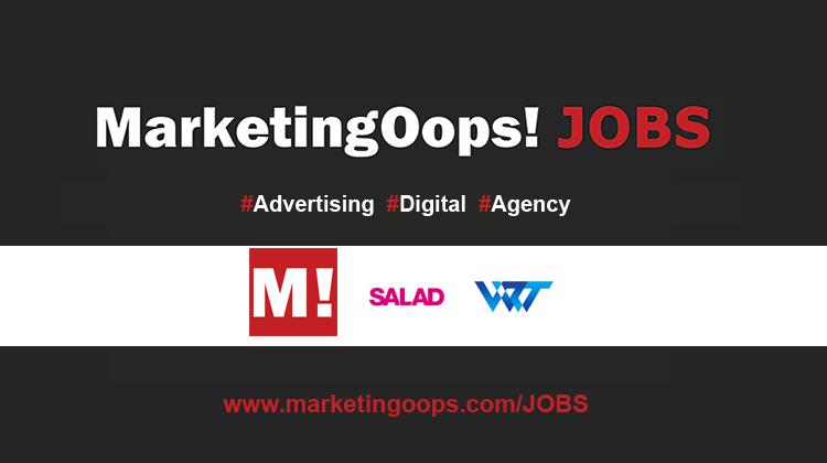 งานล่าสุด จากบริษัทเอเจนซี่โฆษณาชั้นนำ #Advertising #Digital #JOBS 1-2 Jul 2014