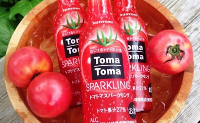 อยากสุขภาพดีเหรอ? ดื่ม Sparkling รสมะเขือเทศสดสินค้าใหม่ของ Suntory ดูสิ