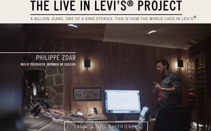 Levis ออกแคมเปญใหม่ #liveinlevis พาทัวร์ไลฟ์สไตล์ของคนใส่ยีนส์จากทั่วโลก