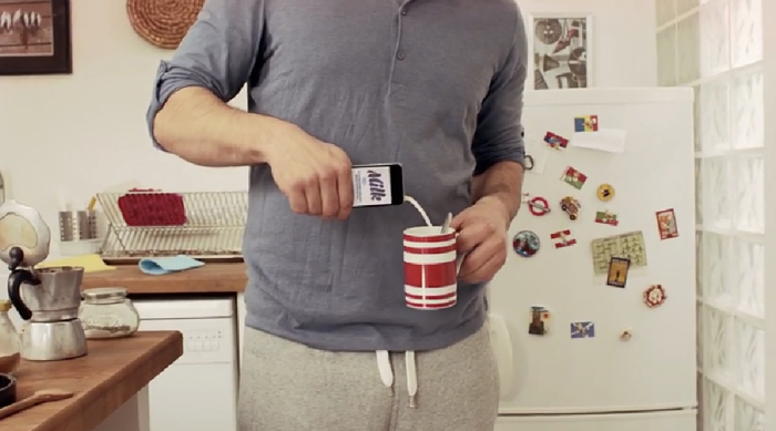 Tesco กับโฆษณาเล่นกลบนไอโฟน โปรโมทแอปฯช้อปปิ้งผ่านมือถือ