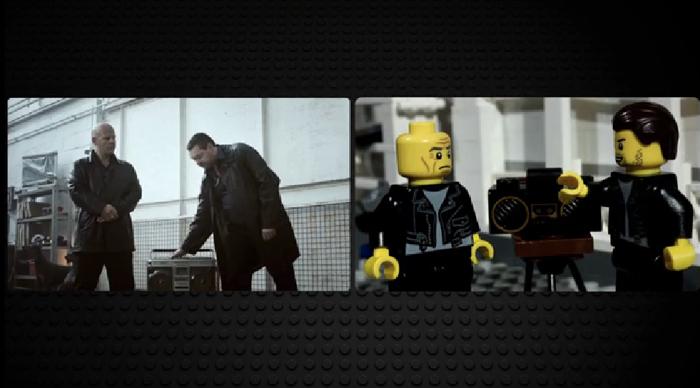 Warner Brothers ใช้แผนซ้อนแผน จับตัวต่อเลโก้มาเล่นโฆษณาดัง เพื่อโปรโมทหนัง Lego the movie