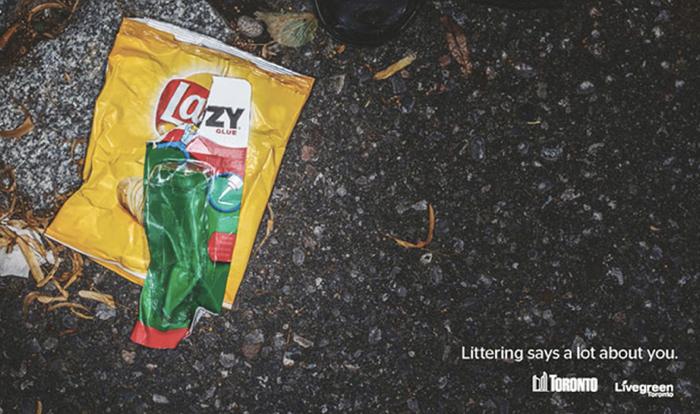 เทศบาลเมืองใช้โลโก้บนแพคเกจตัดแปะข้อความเจ็บๆ เตือนสติพวกชอบทิ้งขยะข้างทาง