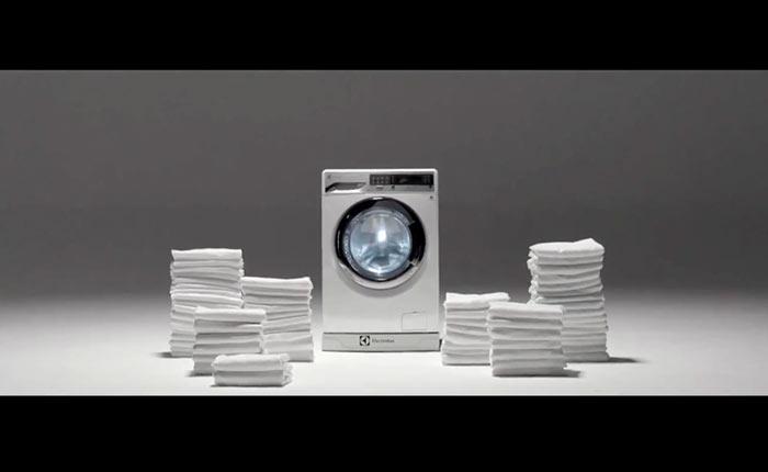 ศิลปะจากเครื่องซักผ้า จินตนาการใหม่จาก Saatchi & Saatchi Thailand และ Electrolux